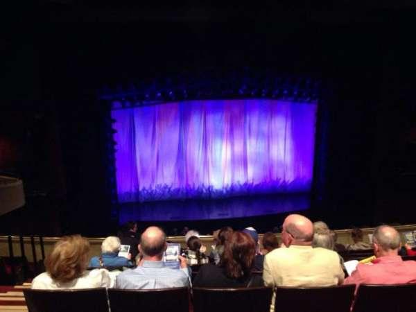 Marquis Theatre, secção: Mezzanine C, fila: H, lugar: 102