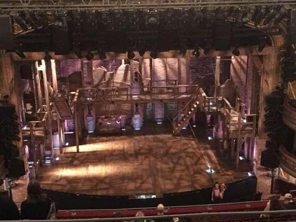 Richard Rodgers Theatre, secção: Rear Mezzanine C, fila: F, lugar: 109 & 110