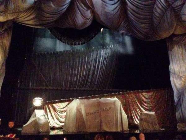 Majestic Theatre, secção: Orchestra C, fila: G, lugar: 103 & 104