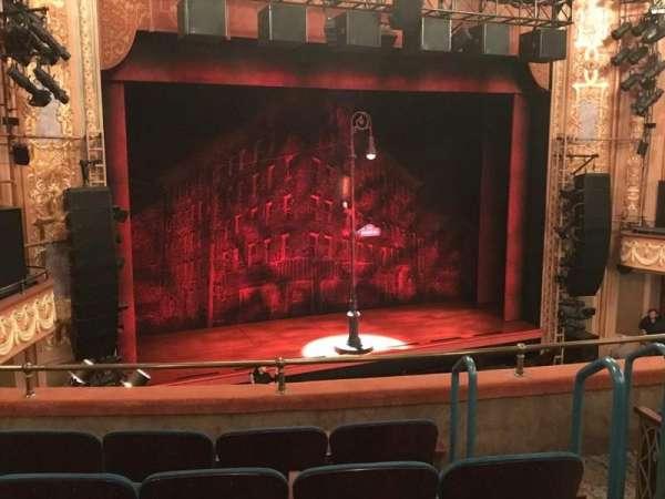 Longacre Theatre, secção: Mezzanine L, fila: E, lugar: 10