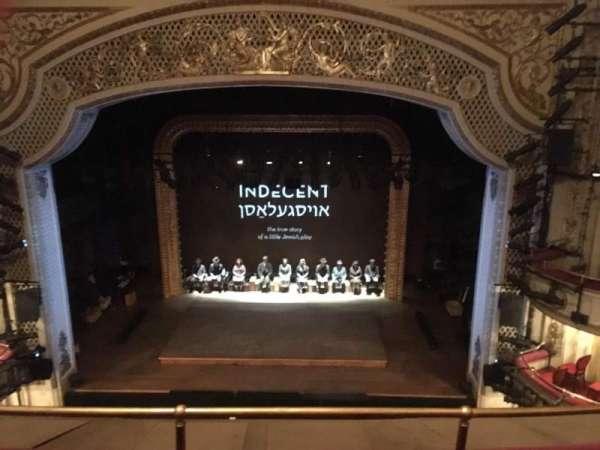 Cort Theatre, secção: Balcony C, fila: C, lugar: 109 & 111