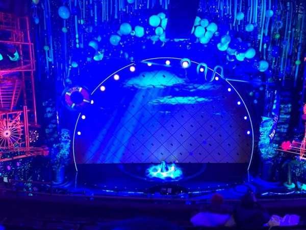 Palace Theatre (Broadway), secção: MEEZC, fila: E, lugar: 104