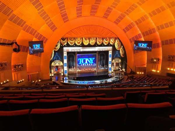 Radio City Music Hall, secção: 2nd Mezzanine 5, fila: F, lugar: 507 And 508
