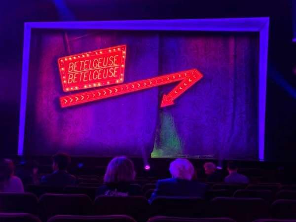 Winter Garden Theatre, secção: Orchestra C, fila: H, lugar: 105 & 106