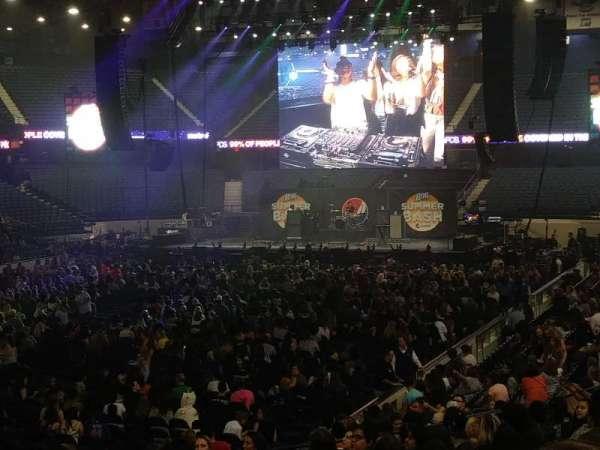 Allstate Arena, secção: 113, fila: Q, lugar: 23