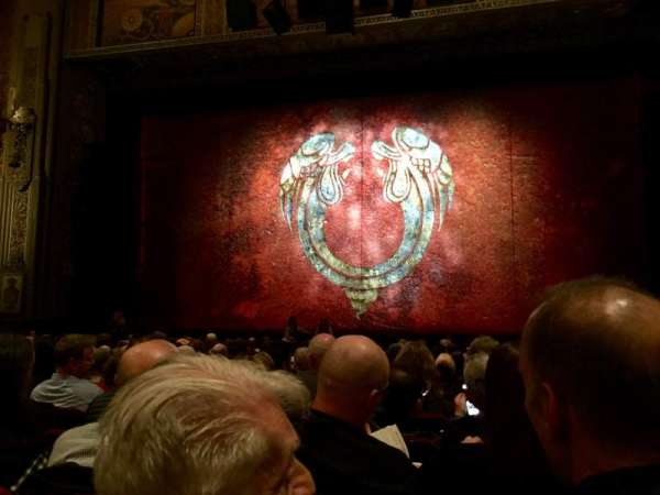 Hollywood Pantages Theatre, secção: Orchestra C, fila: Q, lugar: 101