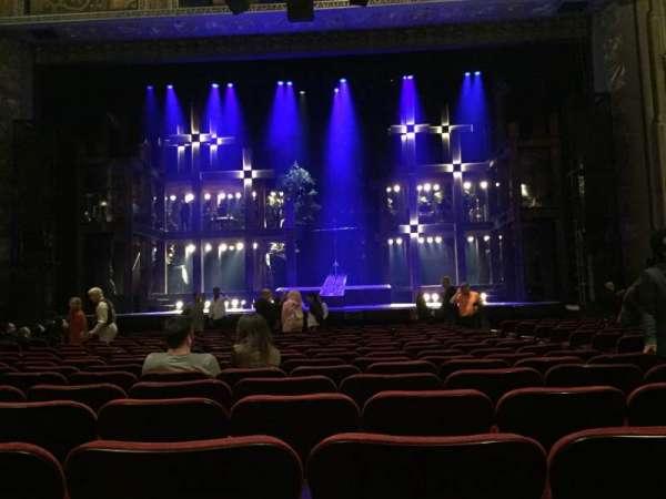 Hollywood Pantages Theatre, secção: Orchestra C, fila: R, lugar: 103