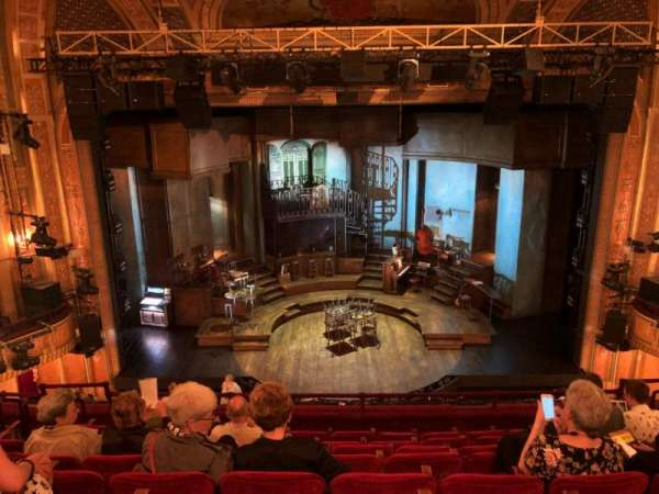 Walter Kerr Theatre, secção: Mezzanine C, fila: H, lugar: 108