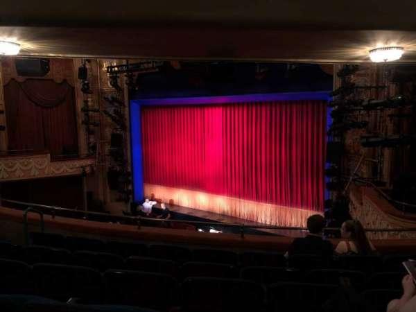 Longacre Theatre, secção: Mezzanine R, fila: F, lugar: 17
