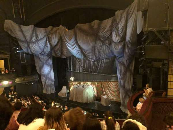Majestic Theatre, secção: FMezo, fila: E, lugar: 26