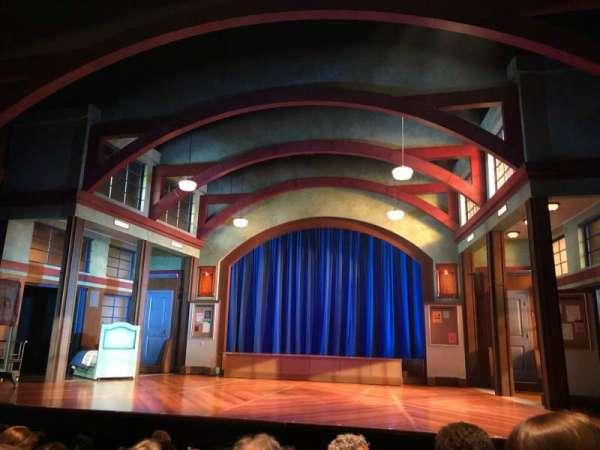 Coca-Cola Stage at Alliance Theatre, secção: Lower Orch, fila: F, lugar: 118