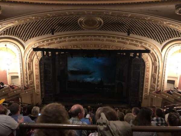 Tivoli Theatre, secção: UBC, fila: H, lugar: 109