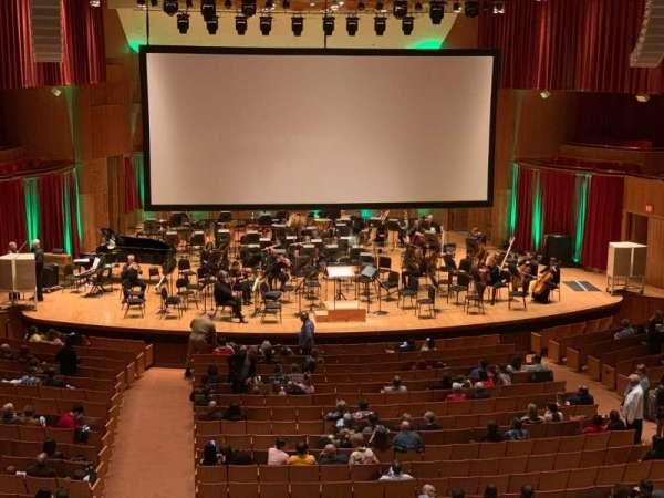 Joseph Meyerhoff Symphony Hall, secção: Grand Tier Center Left, fila: A, lugar: 115
