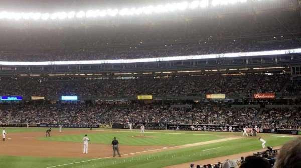 Yankee Stadium, secção: 128, fila: 6, lugar: 9