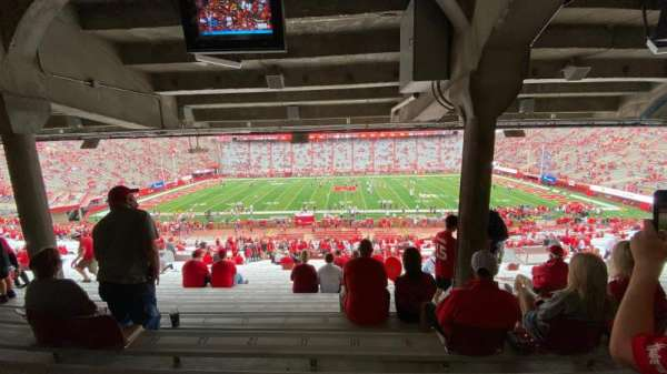 Memorial Stadium (Lincoln), secção: 6, fila: 44, lugar: 10