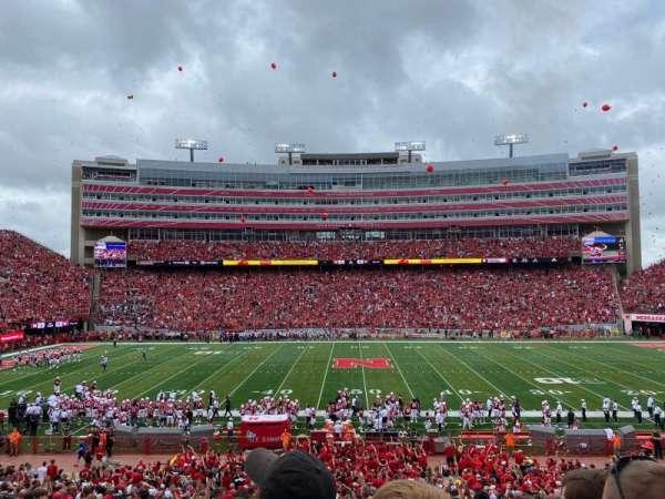 Memorial Stadium (Lincoln), secção: 6, fila: 29, lugar: 9
