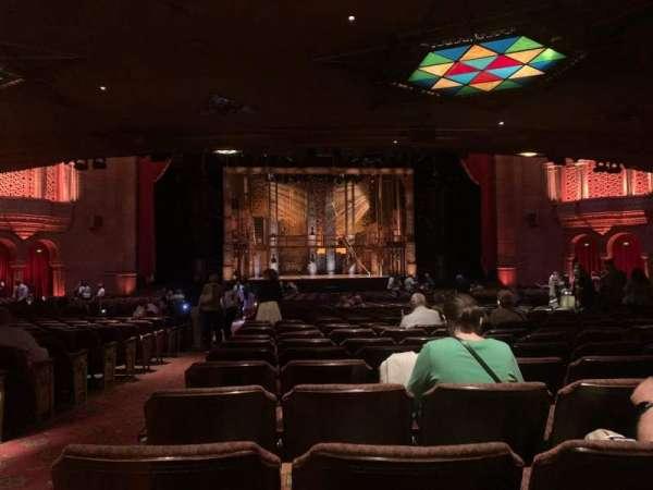 Fox Theatre (Atlanta), secção: Orchestra C, fila: HH, lugar: 114