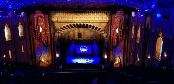 Fox Theatre Oakland, secção: UpperBalc, fila: BB, lugar: 126