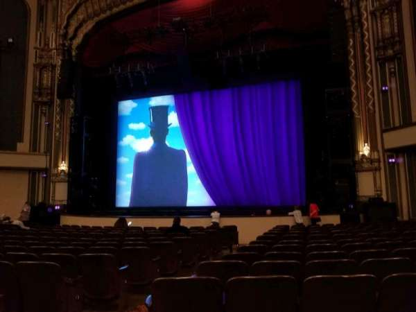 Golden Gate Theatre, secção: Orchestra R, fila: N, lugar: 6