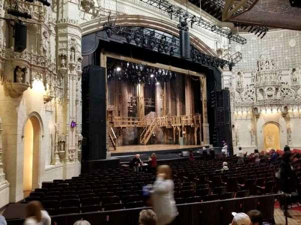 Orpheum Theatre (San Francisco), secção: orchestra l, fila: w, lugar: 25