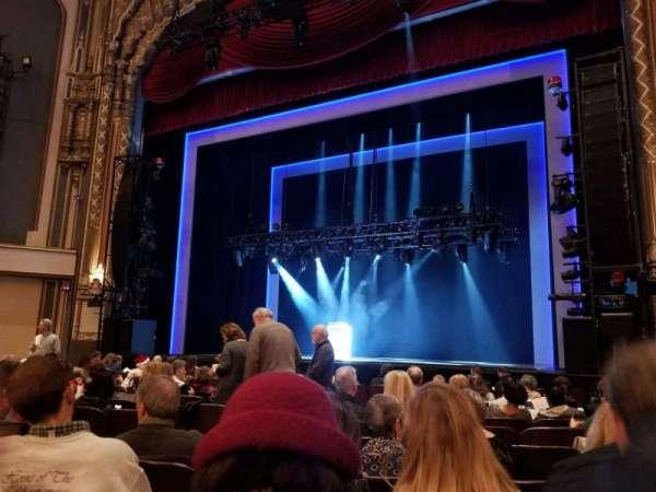 Golden Gate Theatre, secção: orchestra r, fila: J, lugar: 10