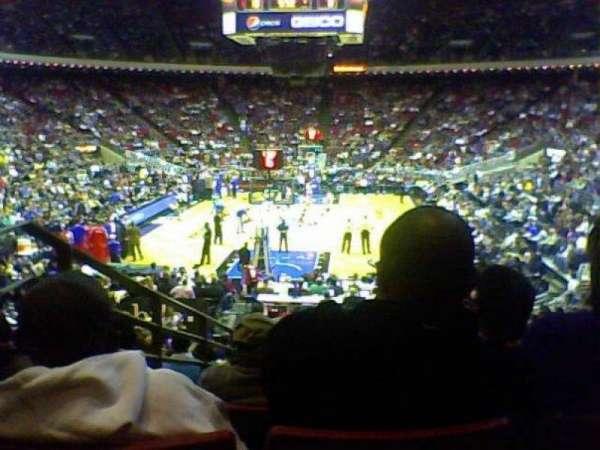 Amway Arena, secção: 118, fila: P, lugar: 10
