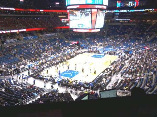 Amway Center, secção: Media Loge
