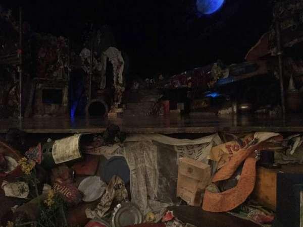 Neil Simon Theatre, secção: Orchestra R, fila: B, lugar: 8