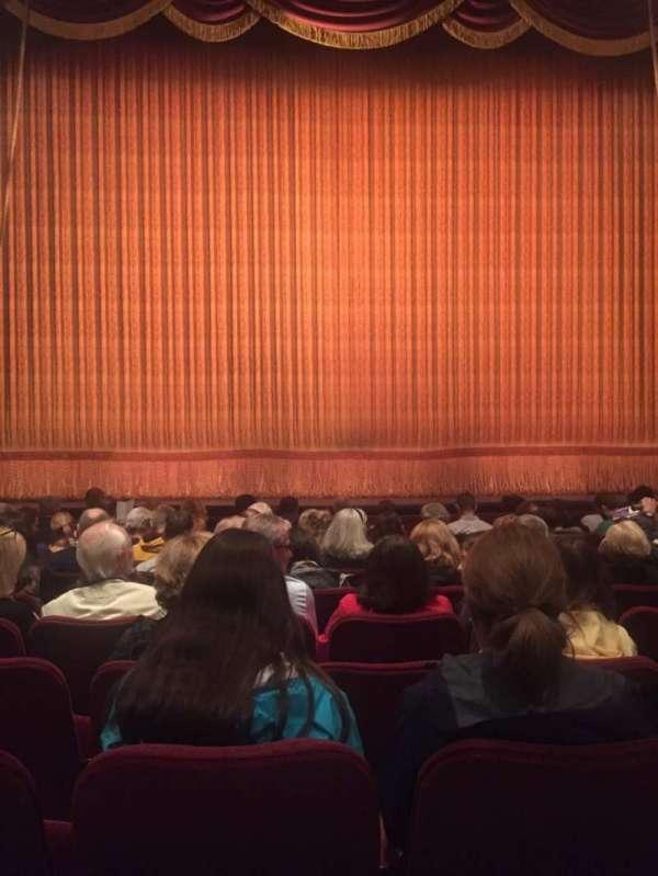 Imperial Theatre, secção: Orchestra C, fila: K, lugar: 105
