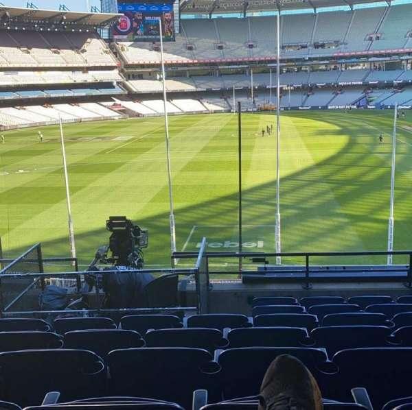 Melbourne Cricket Ground, secção: N3, fila: H