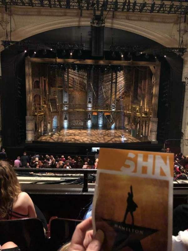 Orpheum Theatre (San Francisco), secção: Loge RC, fila: C, lugar: 103