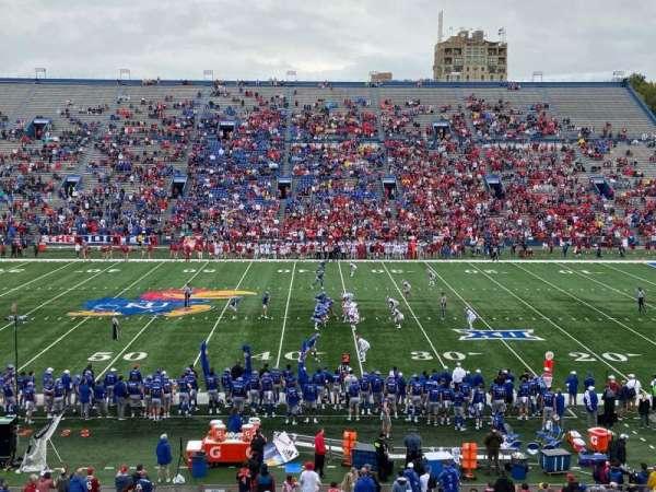 David Booth Kansas Memorial Stadium, secção: 5, fila: 37, lugar: 21