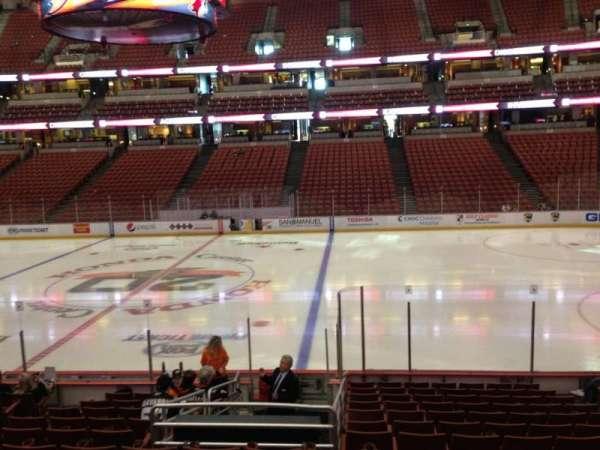 Honda Center, secção: 207, fila: P, lugar: 7