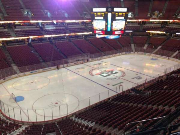 Honda Center, secção: 416
