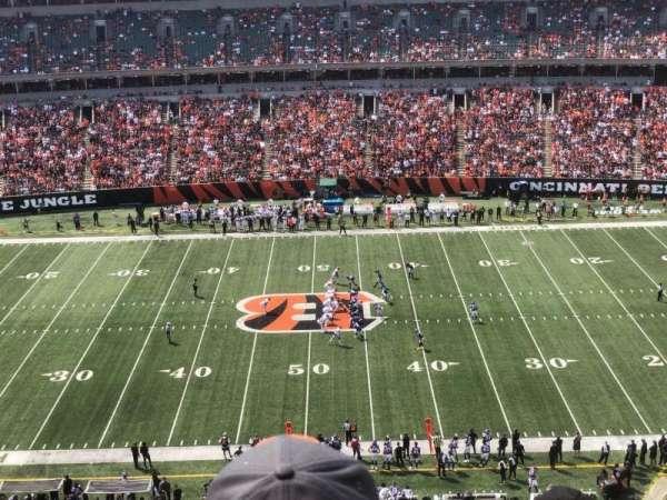 Paul Brown Stadium, secção: 340, fila: 6, lugar: 6