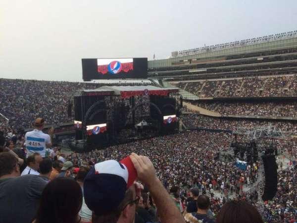 Soldier Field, secção: 334, fila: 10, lugar: 1