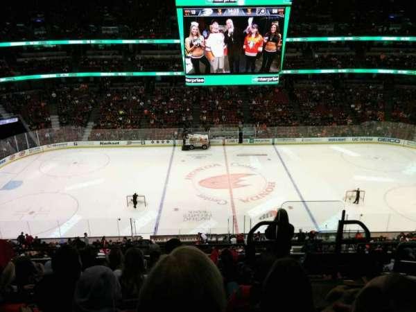Honda Center, secção: 412, fila: H, lugar: 2