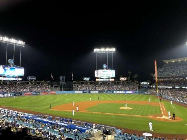 Dodger Stadium, secção: 119LG, fila: F, lugar: 6