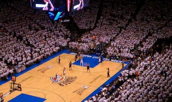 Chesapeake Energy Arena, secção: 328, fila: Q