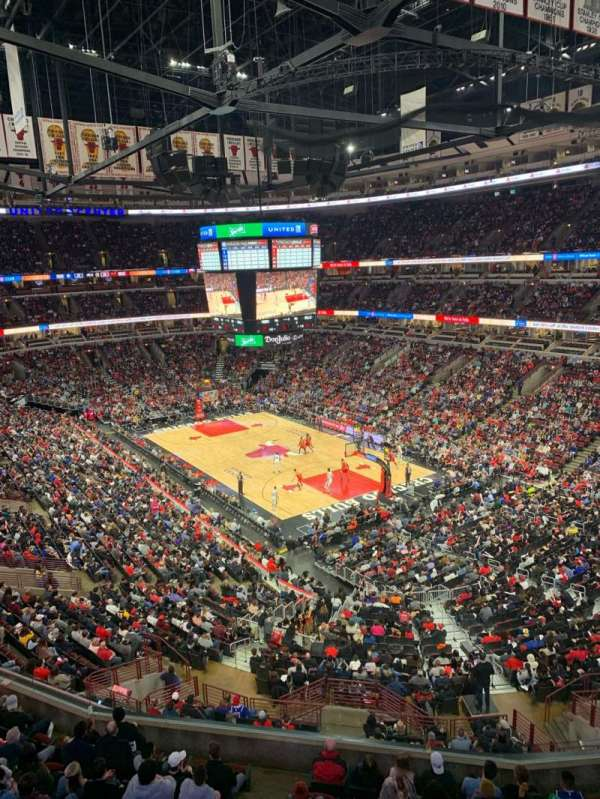 United Center, secção: 312, fila: 1, lugar: 14
