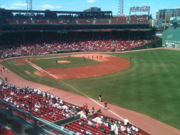 Fenway Park, secção: Right Field Roof Deck Box 27, fila: D, lugar: 8