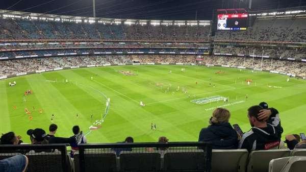 Melbourne Cricket Ground, secção: Q52, fila: C, lugar: 19