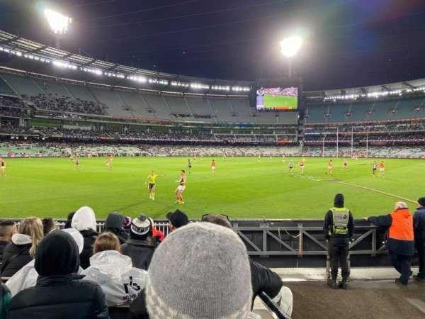 Melbourne Cricket Ground, secção: M28, fila: J, lugar: 12