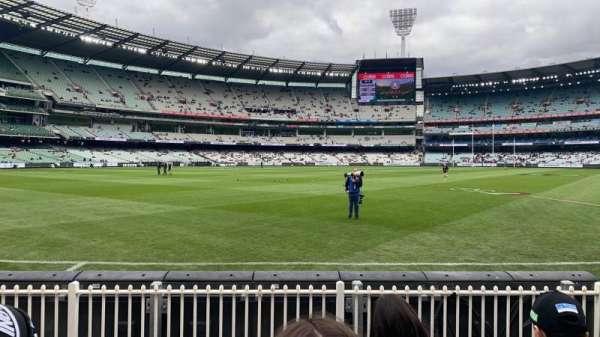 Melbourne Cricket Ground, secção: M28, fila: D, lugar: 16