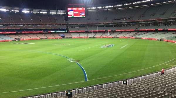 Melbourne Cricket Ground, secção: N55, fila: A, lugar: 9