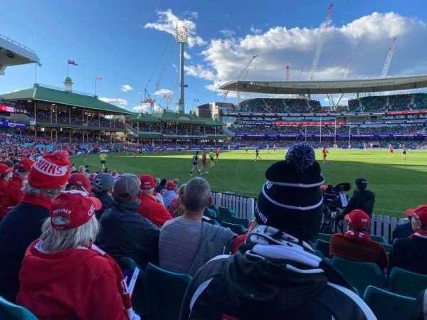Sydney Cricket Ground, secção: 27, fila: J, lugar: 20
