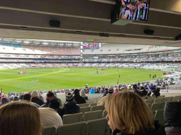 Melbourne Cricket Ground, secção: M53, fila: JJ, lugar: 17