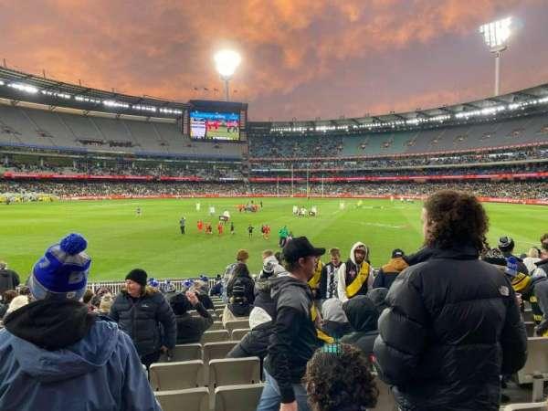 Melbourne Cricket Ground, secção: M30, fila: T, lugar: 6