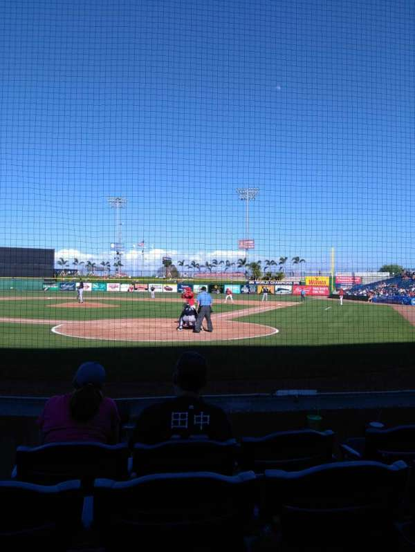BayCare Ballpark, secção: 112, fila: 4, lugar: 6