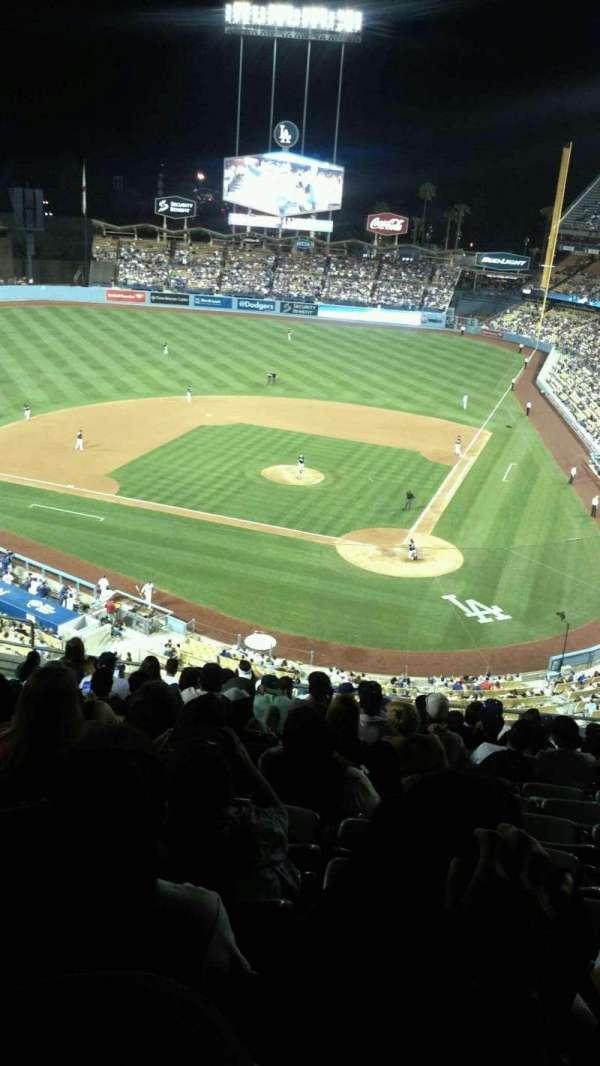 Dodger Stadium, secção: 7rs, fila: O, lugar: 12